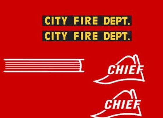 CITY FIRE DEPT