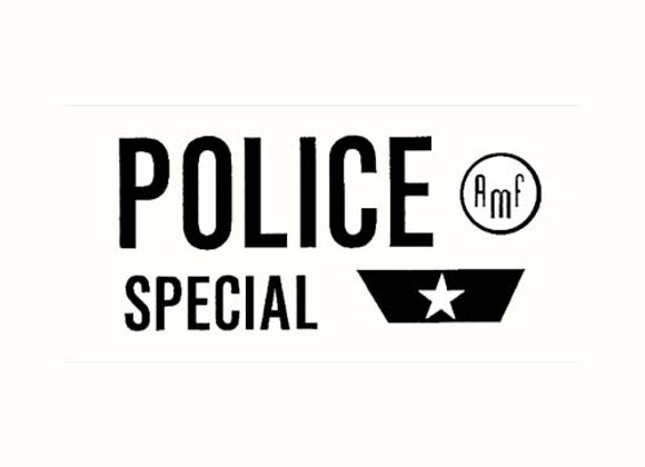 POLICE SPECIAL DECALS