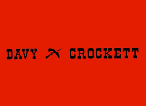 Davy Crockett Wagon Decals