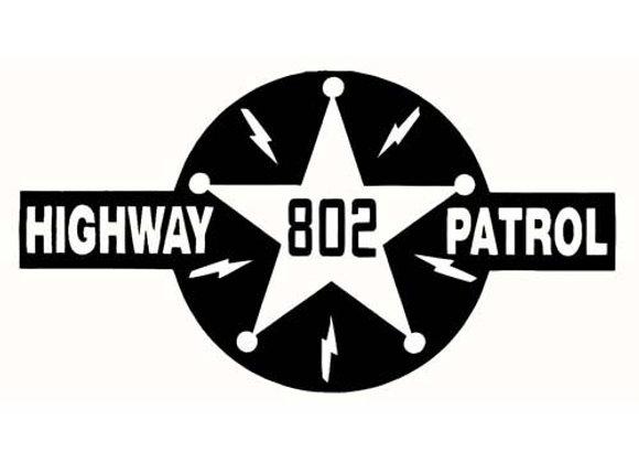 HIGHWAY PATROL 802 DECALS