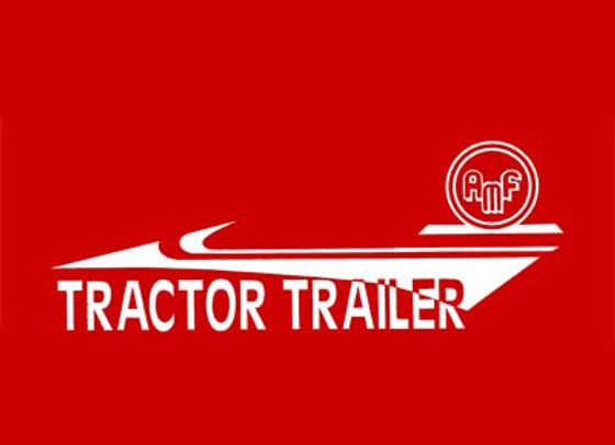 AMF TRACTOR TRAILER DECALS