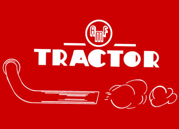 AMF TRACTOR PEDAL TRACTOR DECAL SET