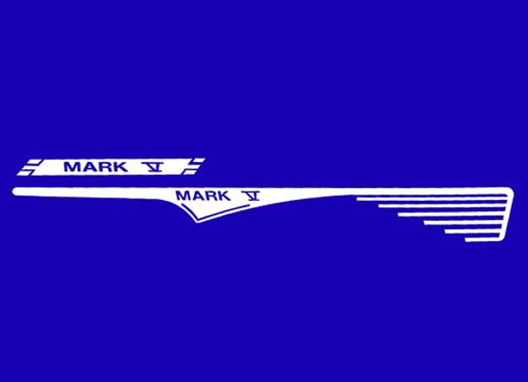 Garton Mark V decals 1961