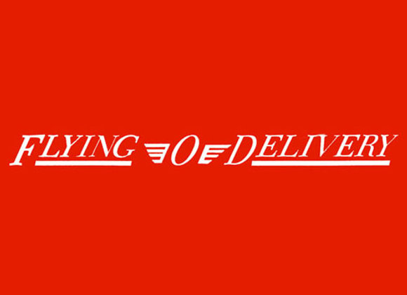 Flying O Delivery Wagon Decals