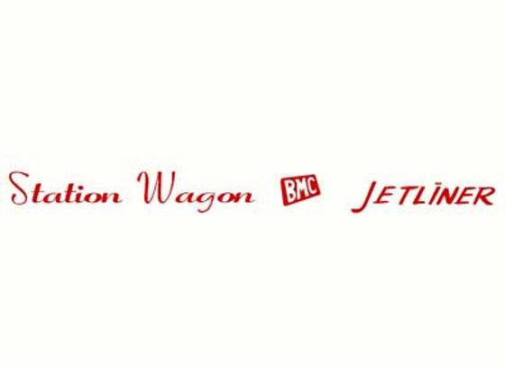 BMC Station Wagon JetLiner Decals