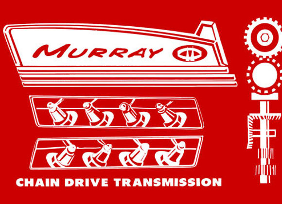 MURRAY CHAIN DRIVE TRACTOR DECALS