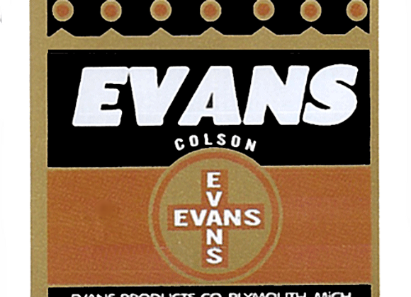 EVANS Tricycle Headbadge