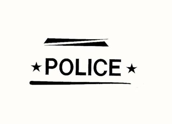 GARTON POLICE DECALS