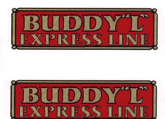 BUDDY L DUMP EXPRESS LINE