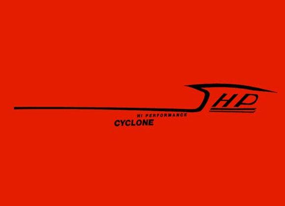 Cyclone Wagon Decals