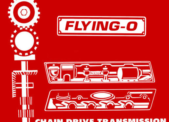 FLYING-O PEDAL TRACTOR DECALS