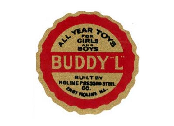 BUDDY L DUMP TRUCK DECALS