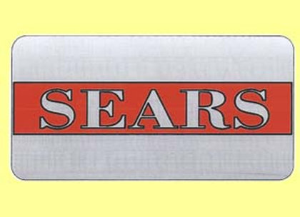 Sears Headbadge Decal