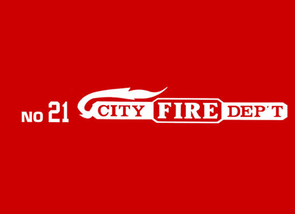 CITY FIRE DEPT NO.21 DECALS