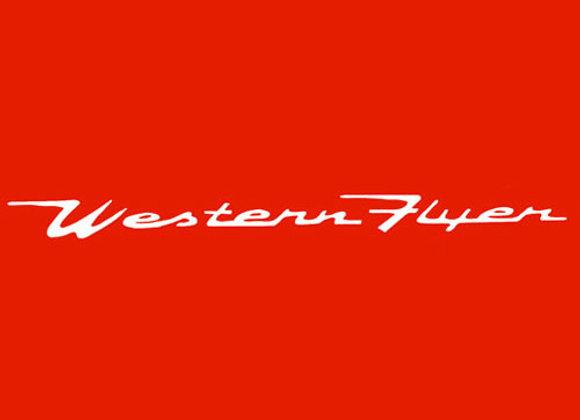 Western Flyer Wagon Decals