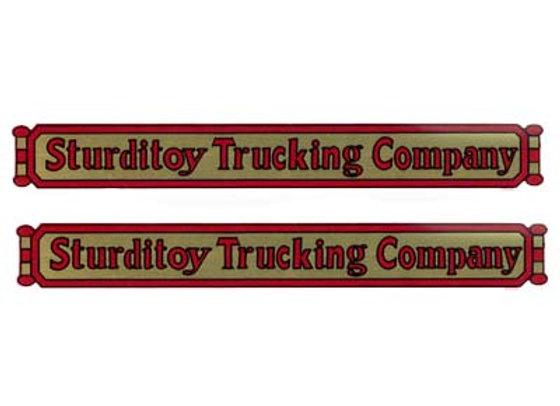 STURDITOY TRUCKING COMPANY