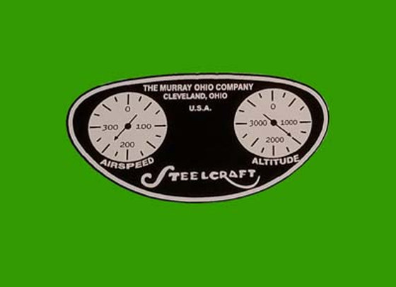 Murray Steelcraft Streamline Velocipede Dash