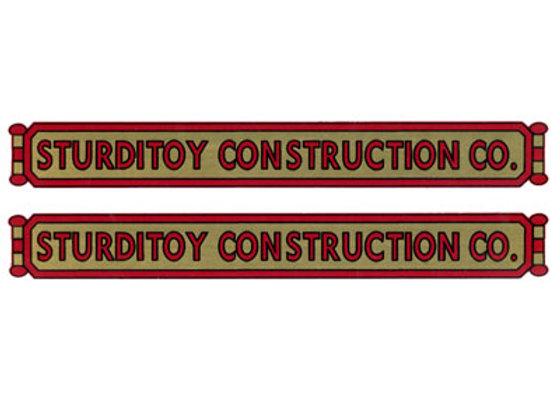 STURDITOY CONSTRUCTION COMPANY