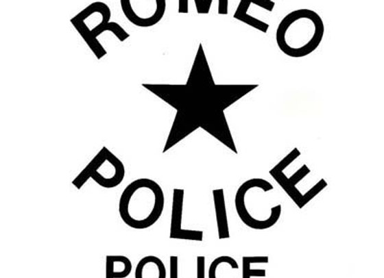 ROMEO POLICE DECALS