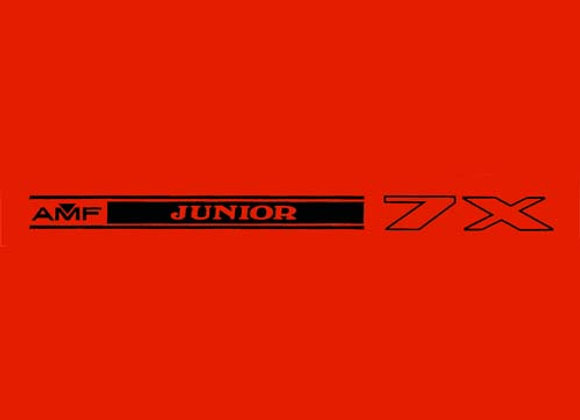 AMF Junior Wagon Decals