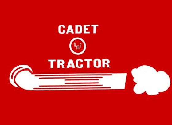 AMF CADET TRACTOR  DECALS