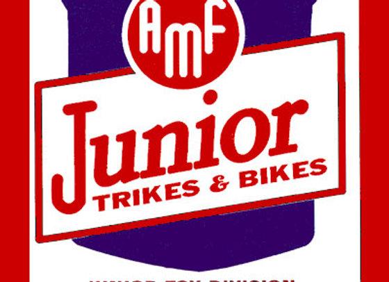 AMF JUNIOR TRIKES & BIKES