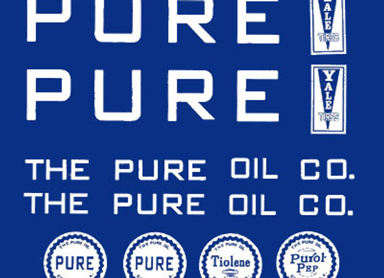 Pure Oil Company Decals