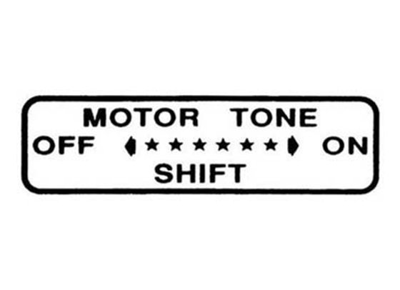 MURRAY MOTOR TONE SHIFT