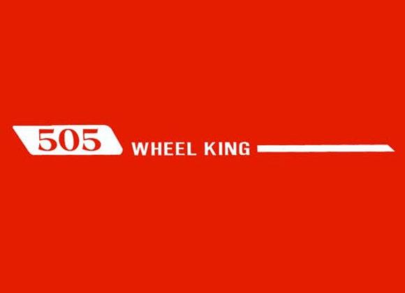 Wheel King 505 Wagon Decals