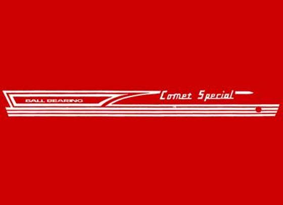 Comet Special Decal set