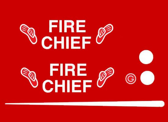 GARTON HOTROD FIRE CHIEF