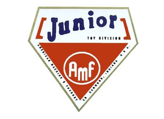AMF Junior Headbadge