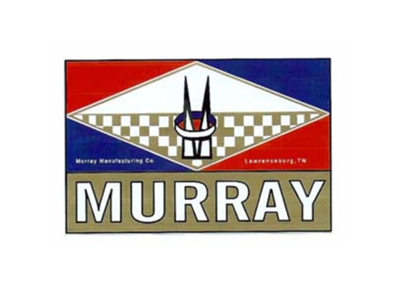 Murray Headbadge Decal