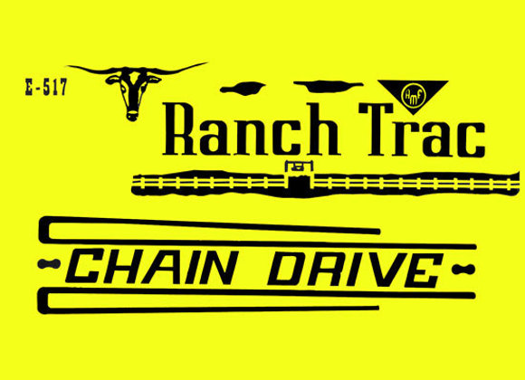 AMF RANCH TRAC PEDAL TRACTOR DECAL SET