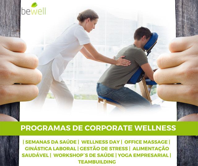 Programas de Corporate Wellness - Bewell Portugal