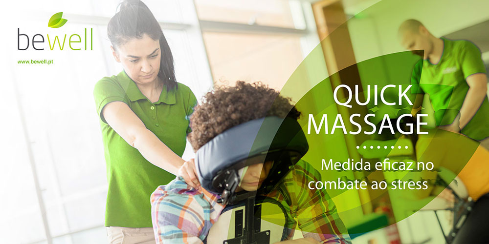 Quick Massage Empresas - BeWell Portugal