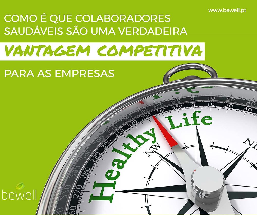 Promover a saúde dos colaboradores Bewell Portugal