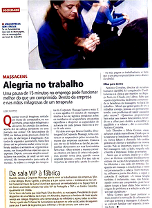 Bewell Portugal - Massagens nas Empresas