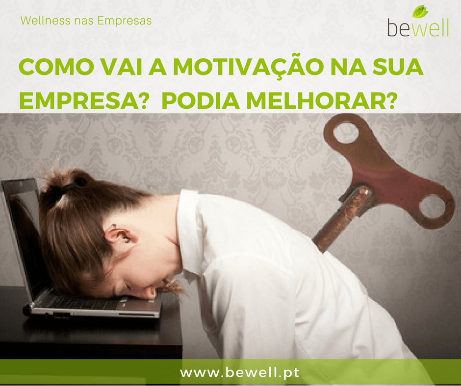 Massagens corporativas Bewell Portugal