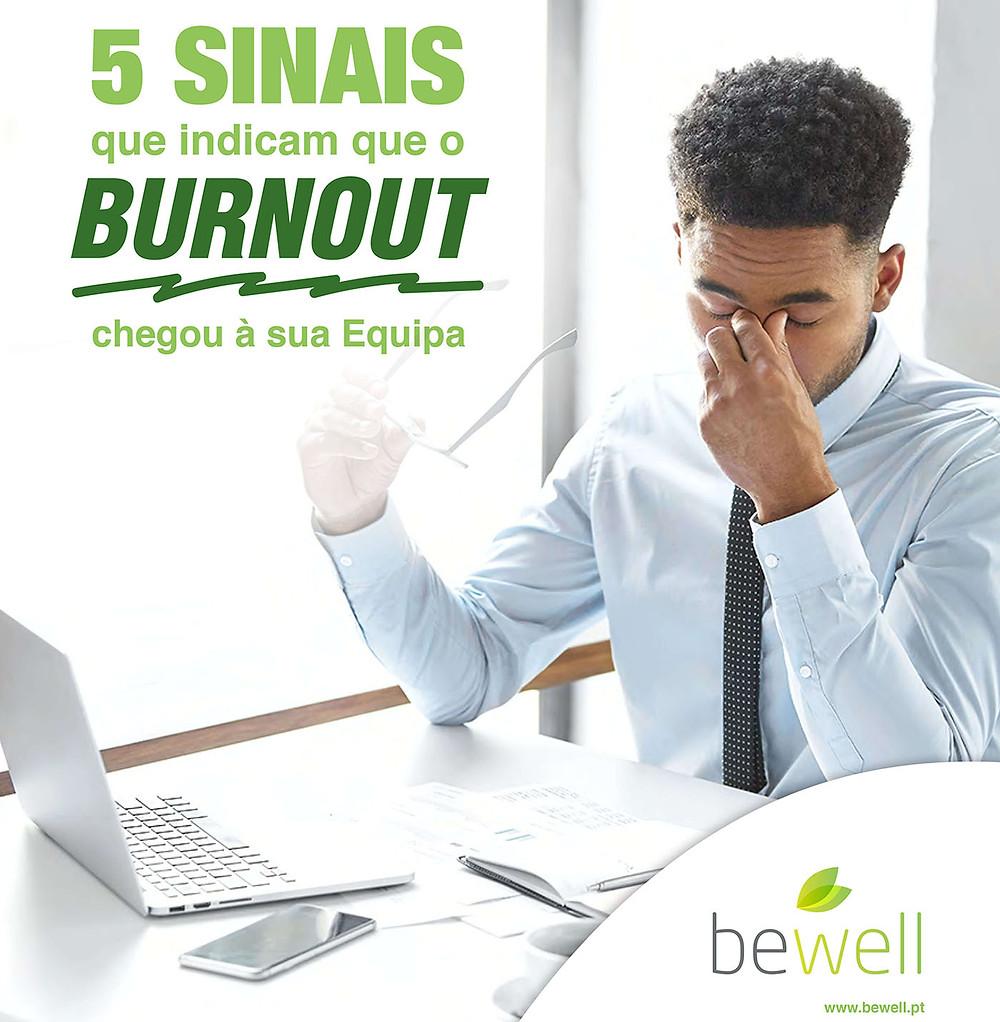 5 Sinais que indicam que o burnout chegou à sua equipa