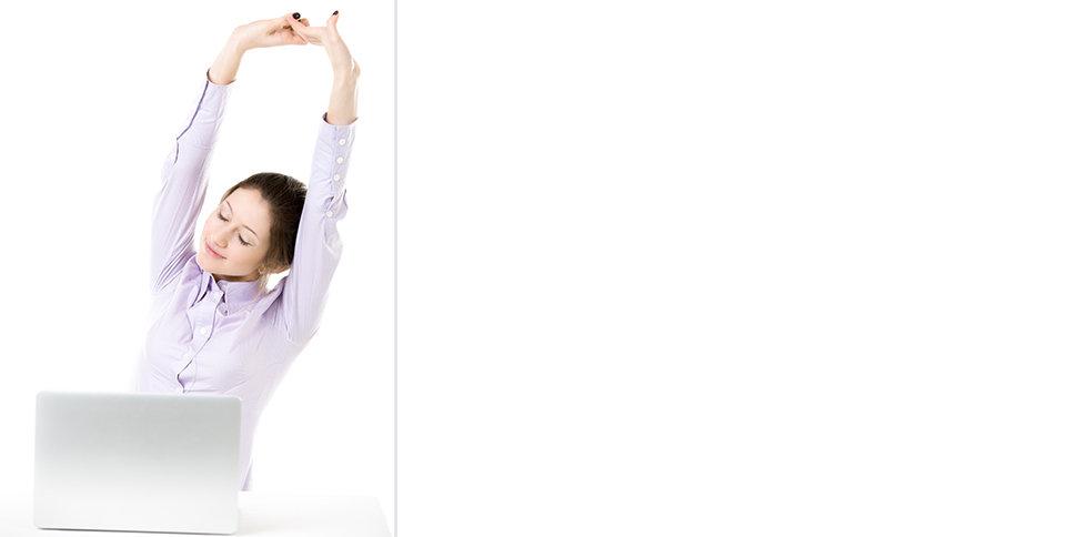 exercícios de ginástica laboral