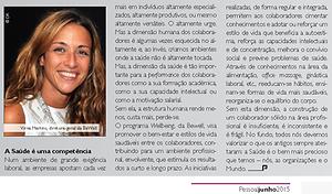 Bewell Portugal Artigo Saúde & Bem Estar nas Empresas