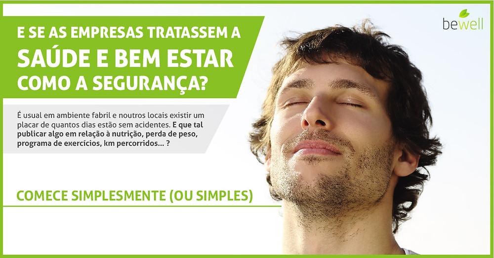 Trate a saúde e bem-estar na sua empresa como trata da segurança - Bewell Portugal