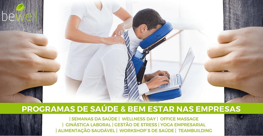 Programa de Saúde e Bem-Estar nas Empresas - Bewell Portugal