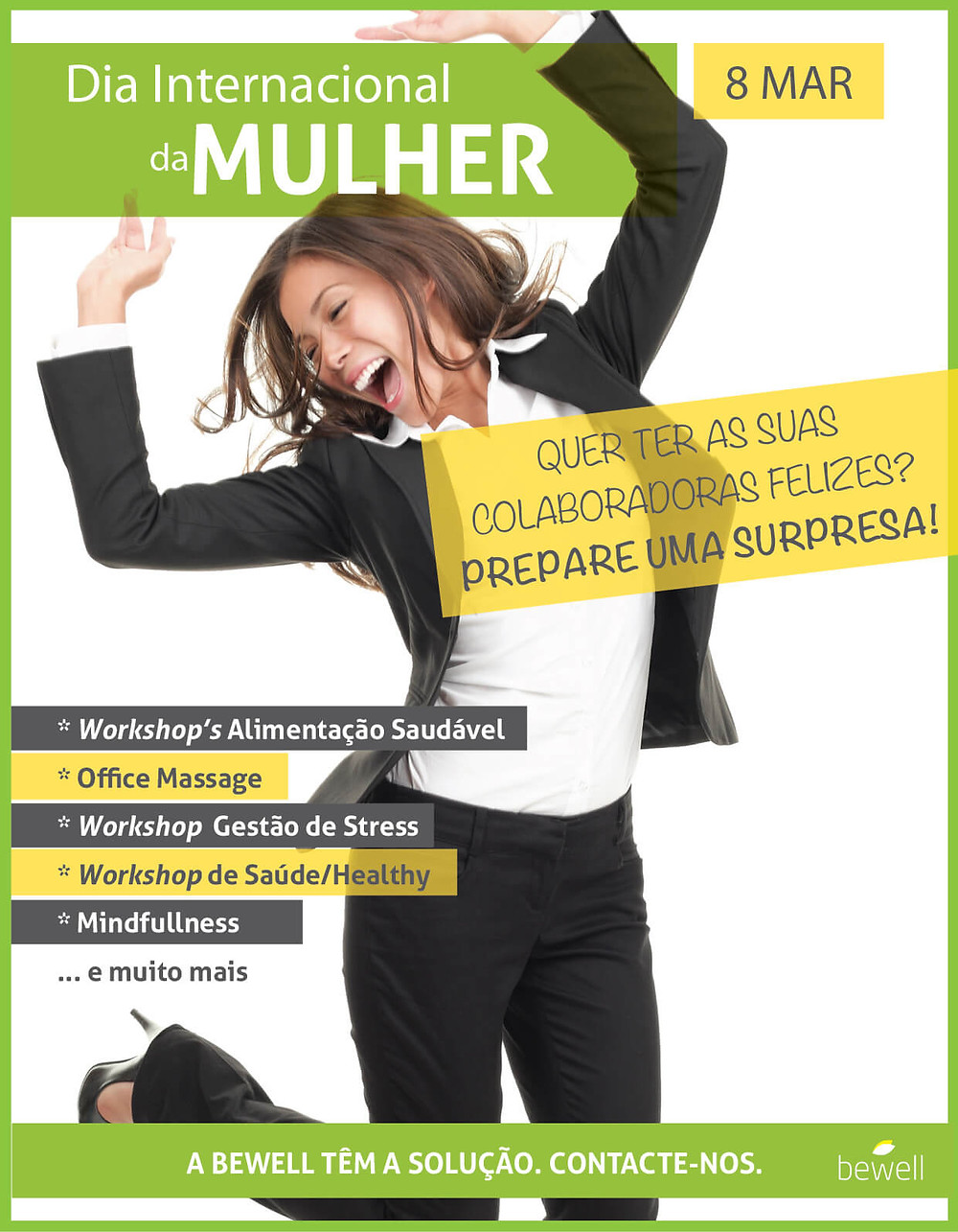 Workshop Mulheres BeWell Portugal