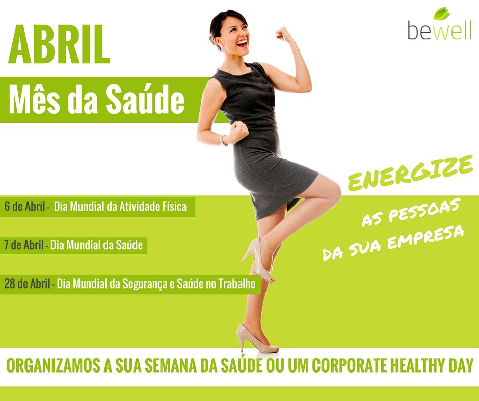 Mês da Saúde Bewell Portugal