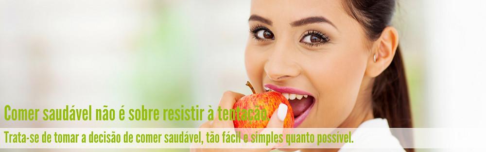 Comer saudável não é sobre resistir à tentação...