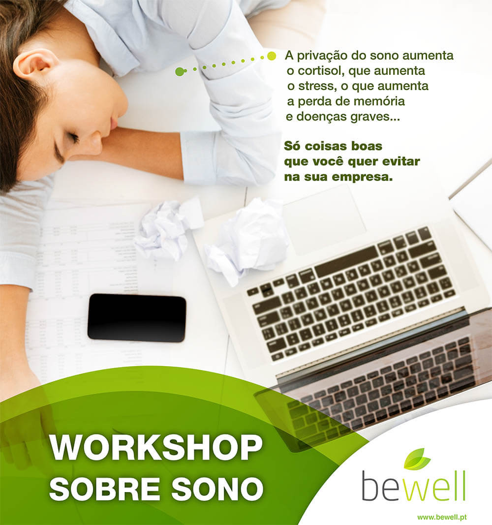 Workshop sobre Sono | Bewell Portugal