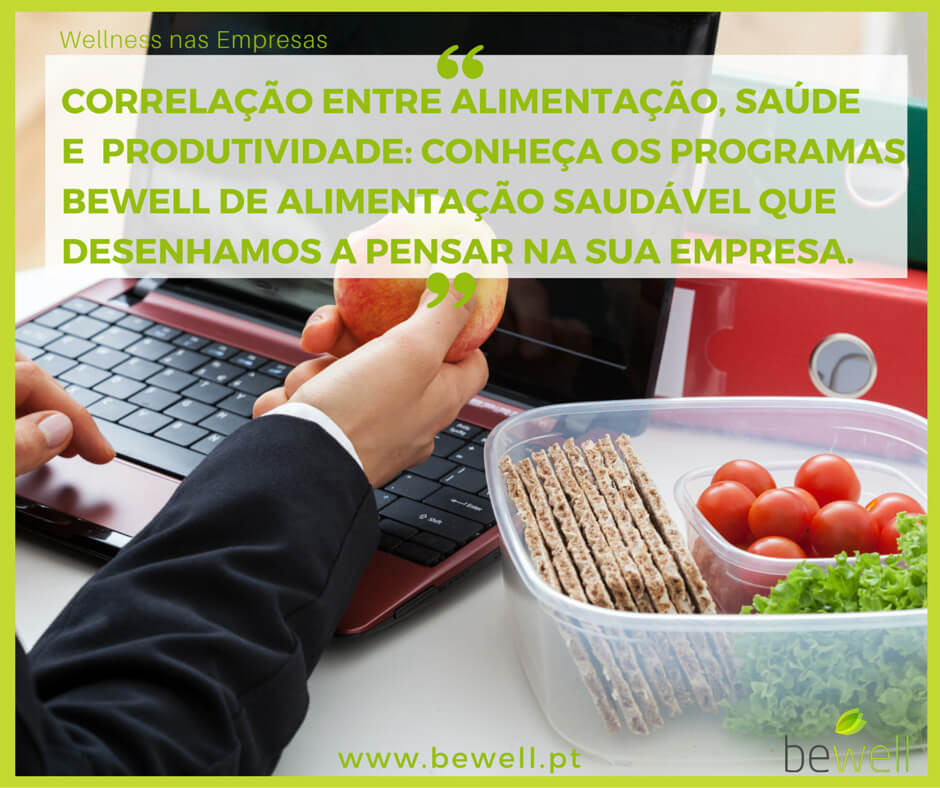 Alimentação e Produtividade BeWell Portugal