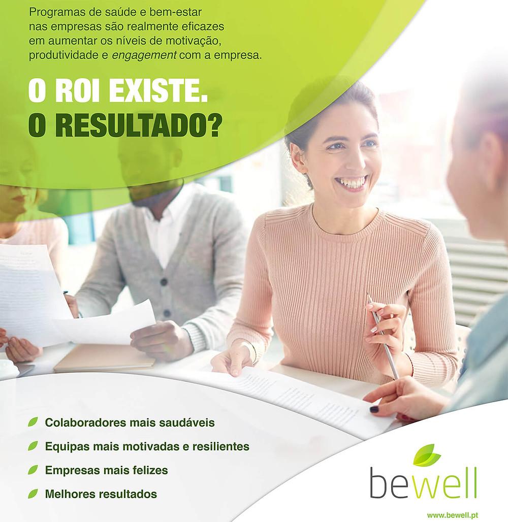 Wellness nas empresas - veja o resultado BeWell Portugal